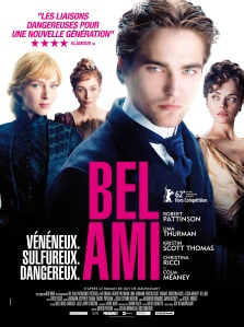 Bel Ami, Robert Pattinson, Uma Thurman